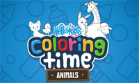 Hello Kids: Coloring Time