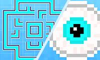 Pixel art-puzzel