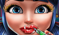 Dotted Girl: Lip Injections