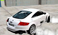 Audi TT RS Drift: 3D Race Car Game