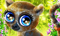 Lémur feliz
