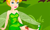 Tinkerbell Forest Accident