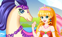 White Horse Princess 2: Dress Up Game