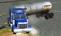 Park My Big Rig: Truck Parking Game