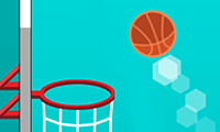 3D Net Blaze: Basketball Game