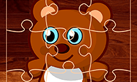 Jigsaw Puzzle: Cute Cartoon Bears