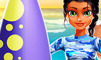 Tina: chica surfista