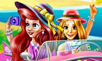 Принцессы Диснея: Поездка на пляж