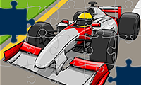 Jigsaw Puzzle: Formula Racing Cars