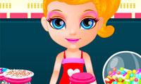 Bébé Barbie à la confiserie