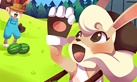 Rapid Rabbit Rush: Running Game