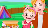 Baby Hazel: Family Picnic