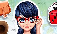 Chica parisina en EE. UU.