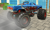 Massacre de zombies en monster truck