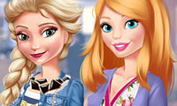 Blind date met Elsa & Barbie