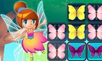 Собери тройку бабочек