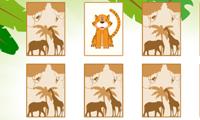 Jogo da Memória dos Animais