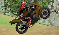 Construction Yard Bike: Motorcycle Game