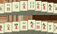 Mahjong met zes driehoeken