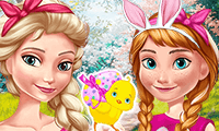 Aniela and Eliza: Easter Fun