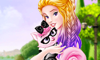 Princess Crazy Cat Lady