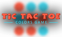 Tic Tac Toe: Colors Game
