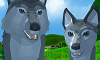 Run Free Wolf: Simulator 3D