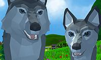 3D-wolfsimulatie