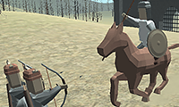 Zombie Horse Riding Simulator