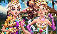 Благотворительное мероприятие принцесс