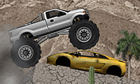Monster truck hard