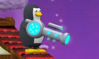 Pingüino vs Hombre de nieve