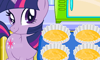 Sparkle Cooking Cupcakes: Cartoon Game