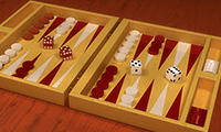 Klassiek backgammon