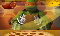 Teenage Mutant Ninja Turtle Pizza Time