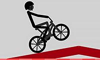 BMX Wheelie-Herausforderung