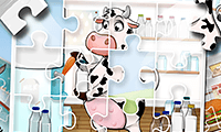 Jigsaw Puzzle: Kids Farm Fun