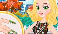 Prinzessin: Mode und Maniküre