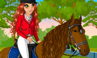 Horse Riding: Dress Up Game