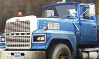 Camión de troncos