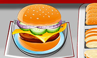 Burger Time: Cooking Game