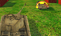 Heavy 3D Tanks: Army Shooting Game