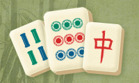 Mahjong in zwart en wit