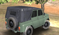Russian UAZ Offroad Driving 3D: Car Game
