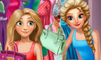 Elsa & Rapunzel: Dressing Room
