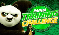 Panda Training Challenge: Cartoon Game