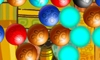 Bubble shooter sur le billard