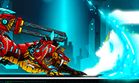 Battle Robot: Wolf Age - Free Fighting Game