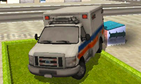 Pixel Road Taxi Depot: 3D Car Simulator Game
