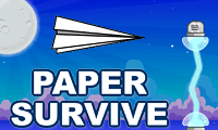 Paper Survive: Airplane Game